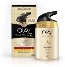 Get 60% off on Olay Total Effects 7 In One Anti-Ageing Day Cream SPF 15  (50 g)