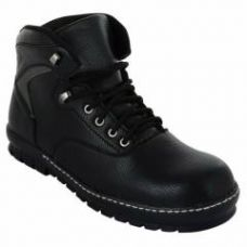 Buy Da-Dhichi RA-08 Steel Toe Black Safety Boots, Size: 6 from Moglix