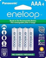 Buy Panasonic Eneloop 800mAh 4xAAA Rechargeable Ni-MH Battery with GST Bill from Ebay
