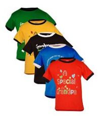 Buy Goodway Multicolor Cotton Tshirts - Pack Of 5 for Rs. 569