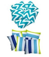 Buy Divine Casa Set of 10 Cotton Cushion Covers for Rs. 599