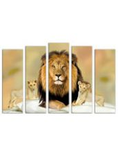 Get 60% off on Trendzy Multi-Frame Wall Painting-Modern Art Digit...