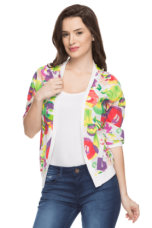 Buy X LIFE Womens Printed Shrug