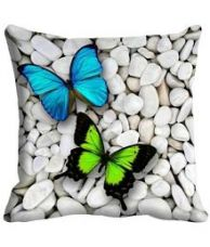 Flat 50% off on Laying Style Set of 5 Cotton Cushion Covers