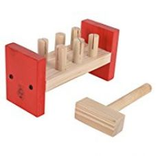 Buy Skillofun Wooden Hammer Peg, Multi Color from Amazon