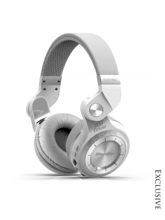 Bluedio Unisex White Over Ear T2+ Bluetooth Headphones for Rs. 2096
