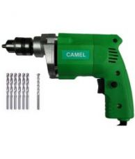 Get 65% off on CAMEL 10MM DRILL MACHINE WITH 6HSS METAL BIT + 1PC MASNORY WALL BIT SET