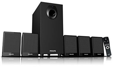 Buy Philips DSP 2800 5.1 Speaker System (without USB Port & Aux Cable) from Amazon