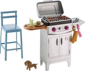Flat 24% off on Barbie Barbecue Grill  (Multicolor)