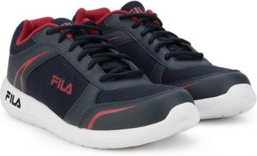 Flat 55% off on Fila WADE Running Shoes  (Navy)