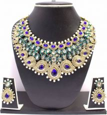 Get 62% off on Zaveri Pearls Alloy Jewel Set  (Multicolor)