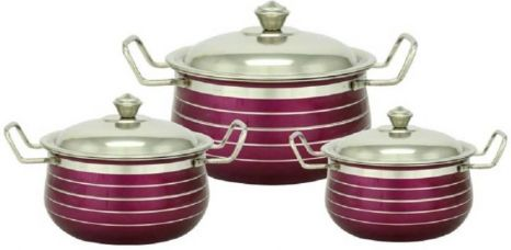 Buy Classic Essentials Cookware Set  (Steel, 6 - Piece) for Rs. 549