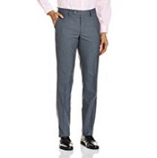 Buy Black Coffee Men's Formal Trousers from Amazon