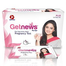 Neclife Getnews One Step Urine (Hcg) Pregnancy Test- Pack Of 5 for Rs. 124