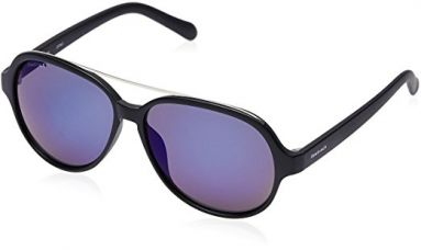 Buy Fastrack UV Protected Sport Women's Sunglasses (P319BU1|58|Navy Blue) from Amazon