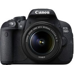 Buy Canon EOS 700D 18MP DSLR Camera (Black) with EF-S 18-55mm IS II Lens from Ebay
