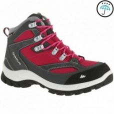 Buy Forclaz 100 High Women's Waterproof Hiking Shoes - Pink for Rs. 2,999