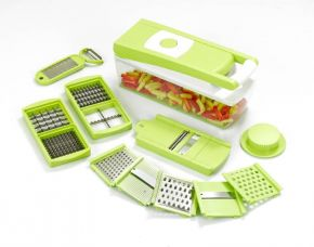 Flat 60% off on Ganesh 14 in one Quick Dicer Chopper  (Green)