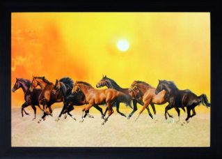 Get 79% off on SAF Textured Print With UV Canvas Painting(10 inch x 14 inch)