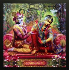Get 71% off on SAF Radha Krishna Canvas Painting  (12 inch x 12 inch)