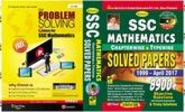 Ssc mathematics chapter wise & typewise solved pap for Rs. 396
