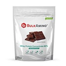 Advance Nutratech Bulkamino Whey Protein Concentrate 80 % Raw Protein 500G Chocolate for Rs. 1,021