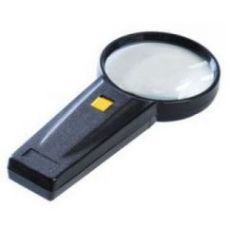 Buy Hand Held Magnifying Glass With Led Light For Home Office Reading Camping for Rs. 200