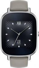 Buy Asus ZenWatch 2 Silver Case with Leather Strap Khaki Smartwatch  (1.45 inch, Khaki) from Flipkart