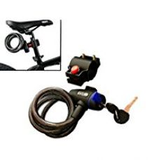WINTECH Cable Key Lock For Bike Cycle Helmet Luggage (Color May Vary) for Rs. 240
