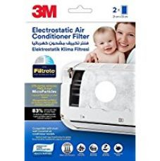 3M Electrostatic Air Purifying Filter for Split ACs (White) for Rs. 350