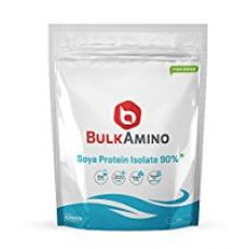 Advance Nutratech Bulk Amino Soya Protein Isolate 90% Powder 1LBS Unflavoured for Rs. 565