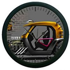 MeSleep Auto Wall Clock (With Glass) for Rs. 599
