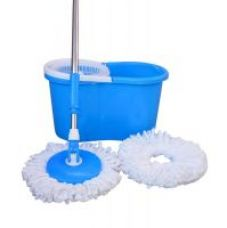 Get 64% off on Best Home Blue Pvc Mop With 2 Micro Fiber