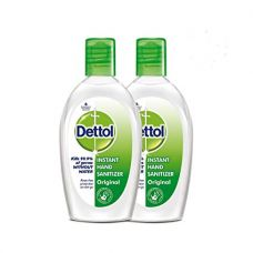 Buy Dettol Instant Hand Sanitizer - 50 ml (Pack of 2 at Rupees 99) from Amazon