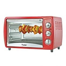 Prestige POTG 19L 41463 1380-Watt Oven Toaster Grill ,Red for Rs. 3,596