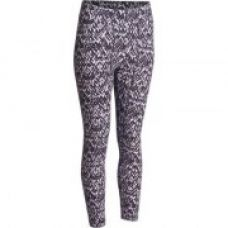 Fit+ Women's 7/8 Slim-Fit Gym and Pilates Leggings - Printed for Rs. 499