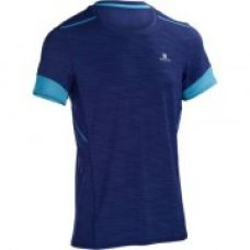 Buy Energy+ Fitness and Cardio T-Shirt - Mottled Dark Blue from Decathlon