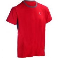 Energy Fitness and Cardio T-Shirt - Red/Grey for Rs. 399