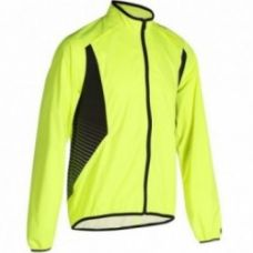 Buy 500 Waterproof Cycling Jacket - Yellow from Decathlon