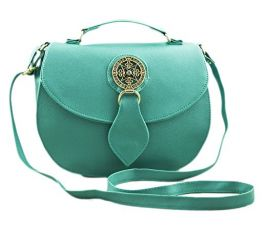 Buy Voaka Women's Turquoise Sling Bag… from Amazon