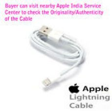 100% Original Apple™ 8 pin Lightning USB Data Cable iPhone iPad 5/6/7/7+/8/X/10 for Rs. 239