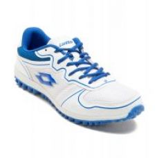 Flat 71% off on Lotto Men's White & Blue Running Shoes