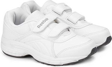 Buy Reebok Kids White Velcro Shoes (UK-8.5,EU-25.5) from Amazon