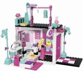 Buy Mega Bloks Build n Style - Fashion Boutique  (Multicolor) for Rs. 1,299
