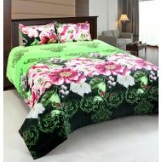 Buy Home Castle Super Soft Double Bedsheet + 2 Pillow Covers(PC-DBL-3D20) for Rs. 329