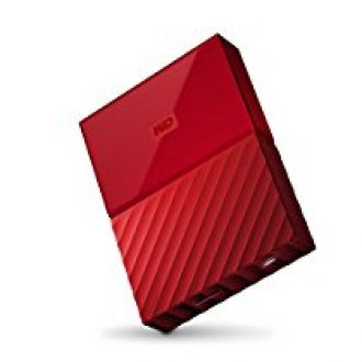WD My Passport 4TB Portable External Hard Drive (Red) for Rs. 9,199