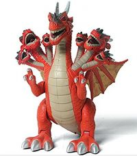 Buy Smartcraft Jurassic Seven Head Dinosaur , Jurassic dinosaur Seven Heads Dragon Toy Figure with Many Lights & Loud Sounds, Real Movement (Battery Powered,Color may vary) from Amazon