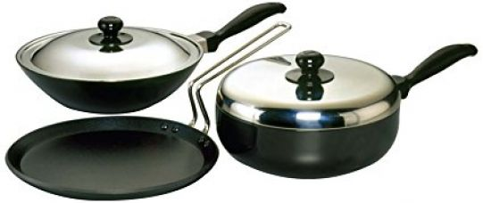 Futura Non-Stick Cookware Set, 3 Pieces (QS4) for Rs. 3,179