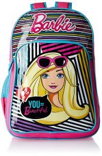 Buy Barbie Pink and Blue Children's Backpack (Age group :3-5 yrs) from Amazon
