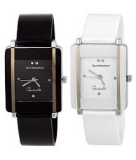 Buy Maan International Black & White Dial Girls Watch for Rs. 274